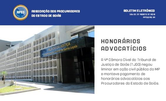 Informativo Semanal - de 19 a 31/08/2019